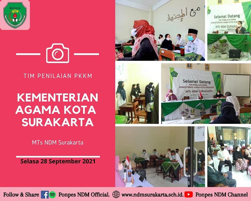 Penilaian Kinerja Kepala Madrasah MTs NDM Surakarta